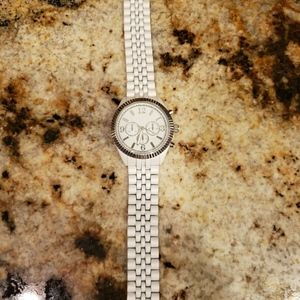 Women's White Stainless Steel Back Watch White